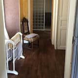 Familien-Suite, eigenes Bad - Badezimmer