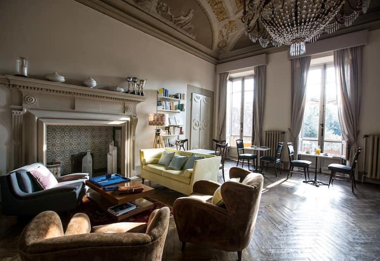 AdAstra Suites, Florence, Zitruimte lobby