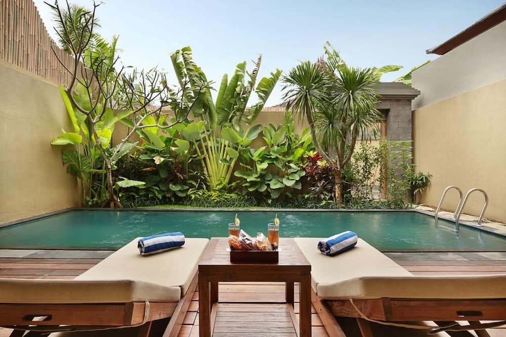 Villa, 1 Bedroom, Private Pool - Interior Entrance