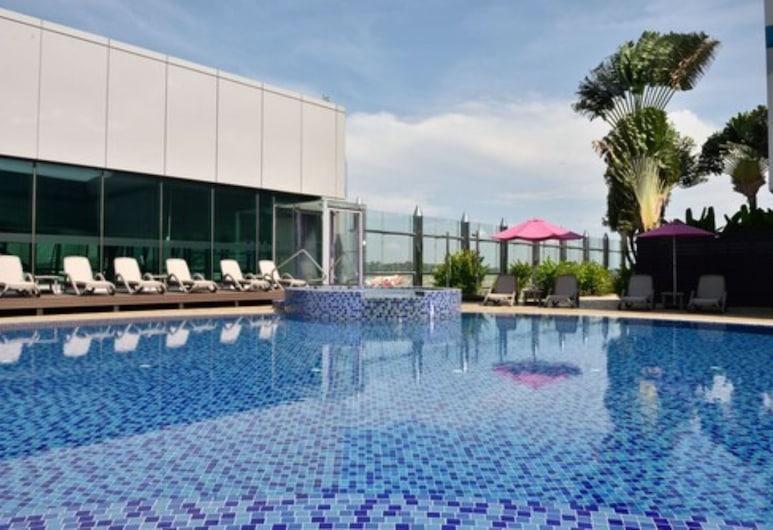 Aerotel Transit Hotel, Terminal 1, Singapur, Piscina al aire libre