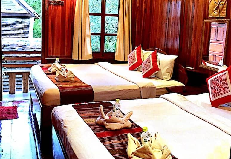 Soutikone 1 Guesthouse, Luang Prabang, Firemannsrom – family, terrasse, tårn, Gjesterom