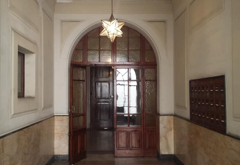 Villa Borghese Guest House, Rom, Pintu Masuk Hotel