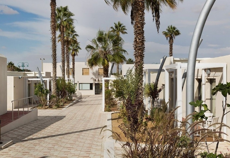 Desert Irus Hotel, Ramat Negev, Terassi/patio