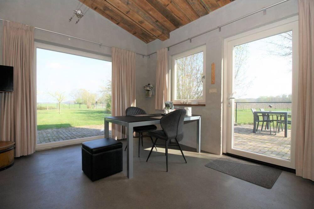 Studio có tầm nhìn toàn cảnh, 1 giường cỡ queen, Quang cảnh vườn (Framboos) - Phòng