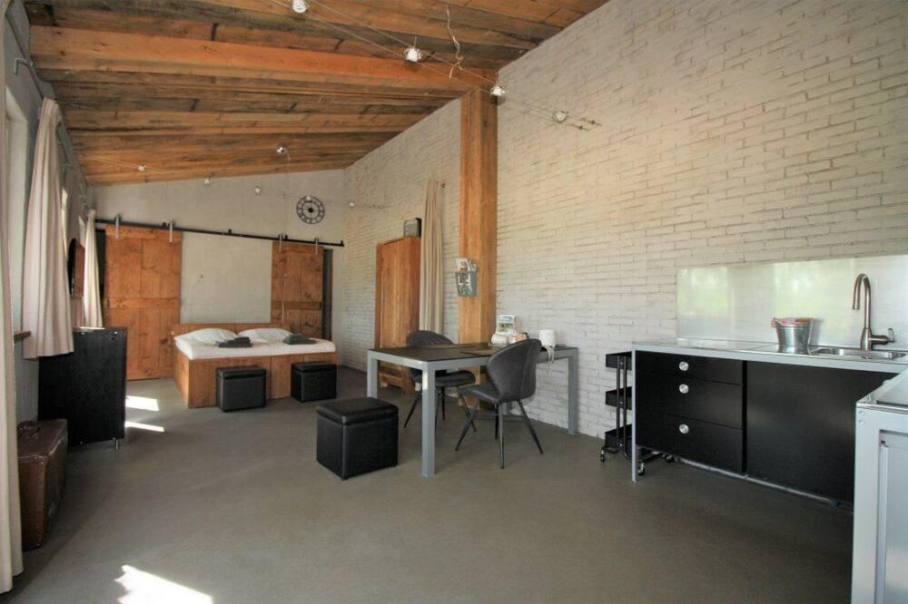 Studio có tầm nhìn toàn cảnh, Quang cảnh vườn (Moerbei) - Ăn uống tại phòng
