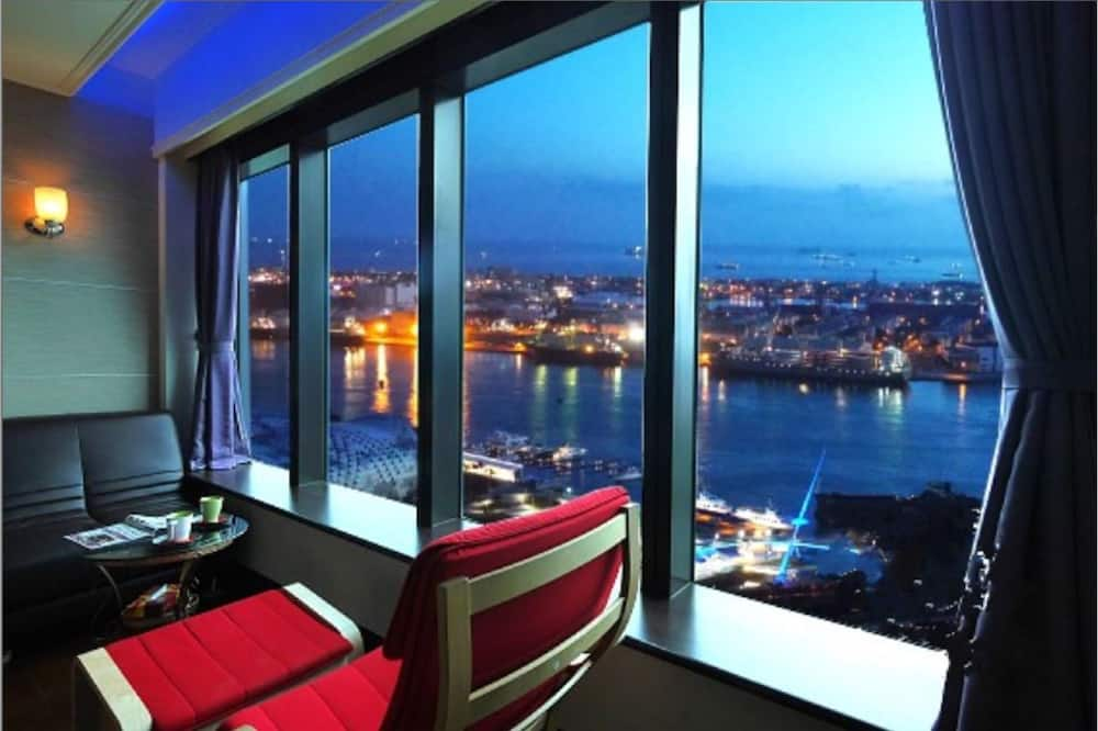 Dvojlôžková izba, výhľad na more - Obývacie priestory