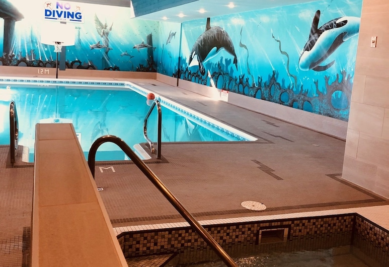 Anchor Inn And Suites, Campbell River, Innen-Whirlpool