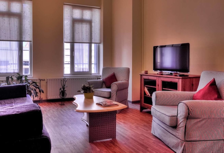 Hotel Infotel, Bergen, Executive tweepersoonskamer, Woonruimte