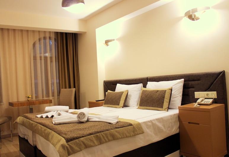 Milano Hotel & Spa, Istanbul, Deluxe - kahden hengen huone, Vierashuone