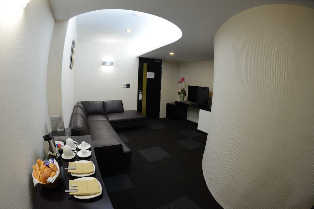 Apartament typu Suite (King) - Powierzchnia mieszkalna