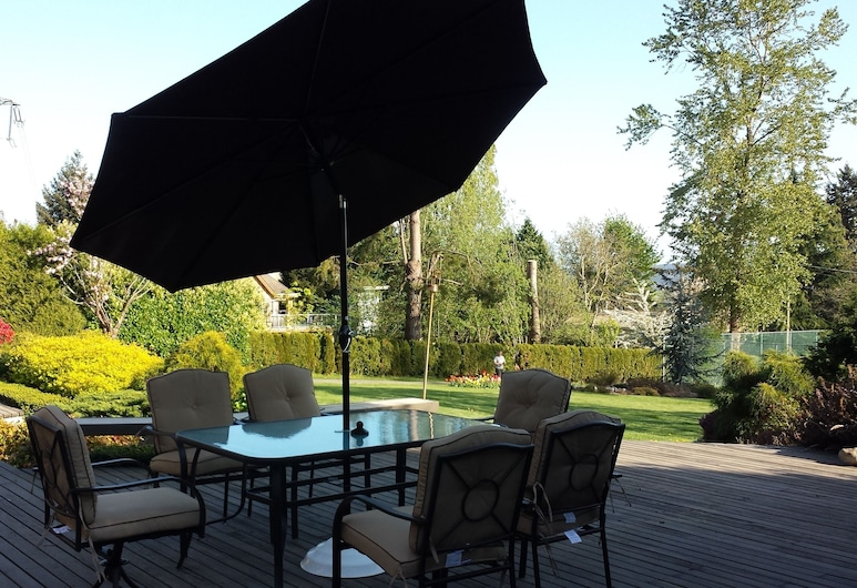 Hilltops, Surrey, Terraza o patio