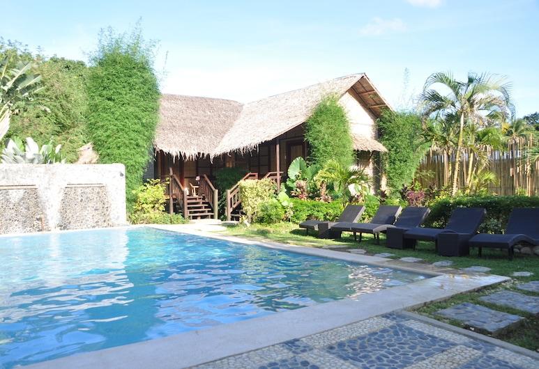里奥别墅渡假飯店, El Nido, 室外游泳池