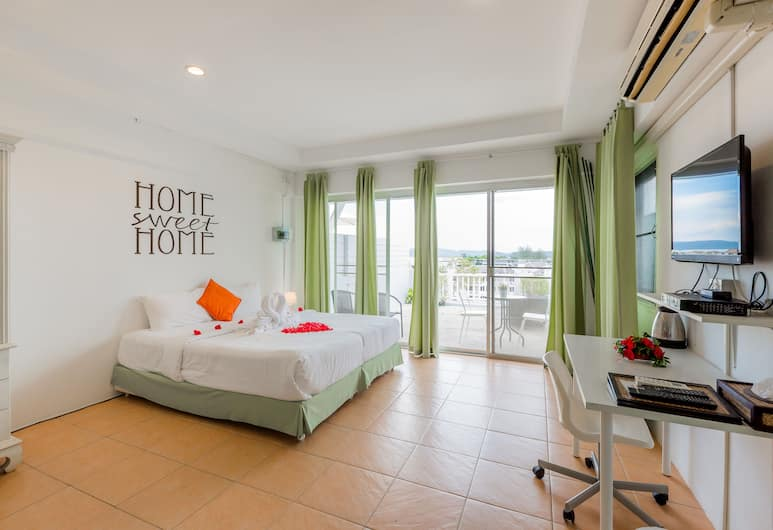 OYO 443 Little Home Ao Nang, Krabi, Deluxe Sea View, Kamer