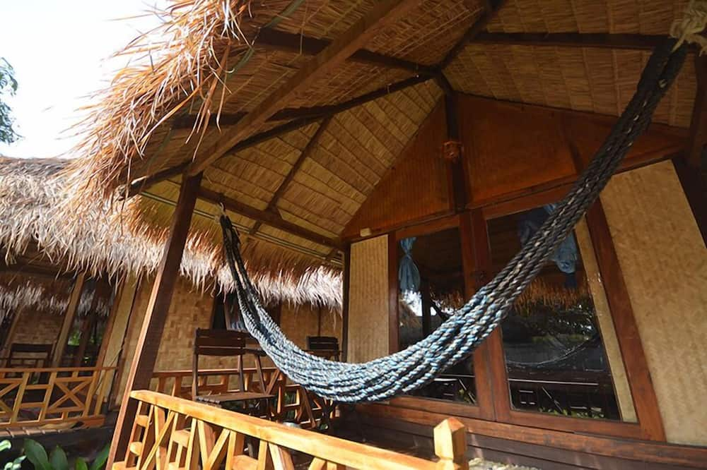 Fan Bungalow - Balkon