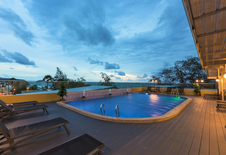 Anda Beachside Hotel, Karon, Rooftop Pool
