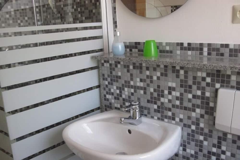 Стандартний одномісний номер, з видом на парк - Ванна кімната