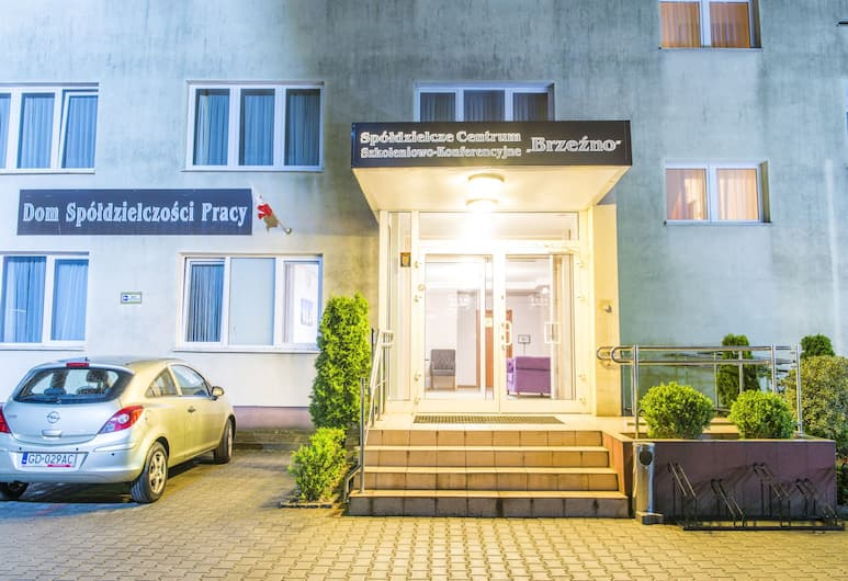 SCSK Brzezno, Gdansk, Pohľad na hotel