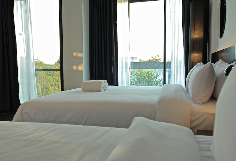 BED Nimman Hotel - Adults Only, Chiang Mai, Triple Room (1 Double Bed and 1 Single Bed)(Adults Only), Guest Room View