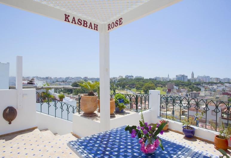 Kasbah Rose, Tanger, Terrasse/Patio