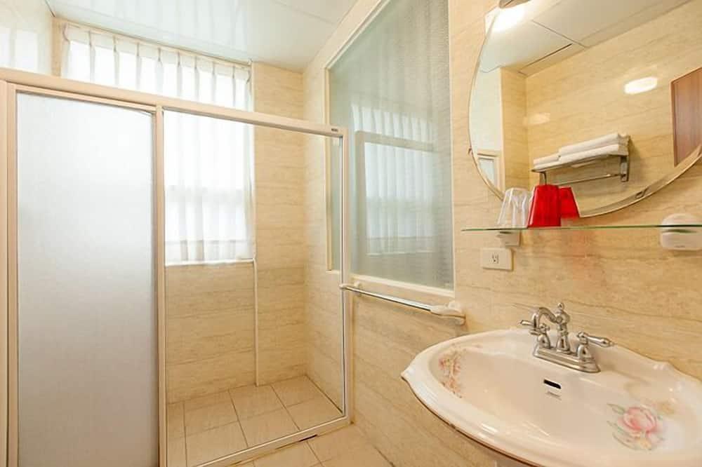 Chambre Double, vue montagne - Salle de bain