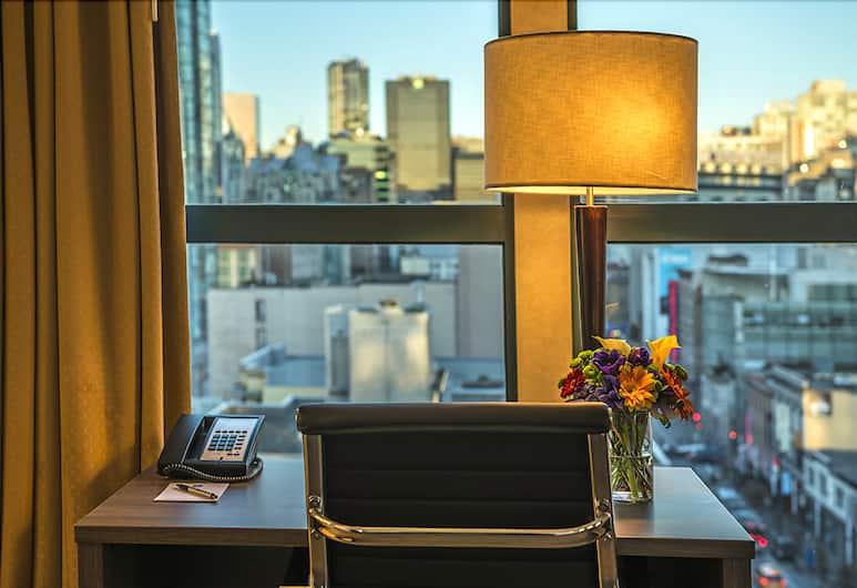 GEC Granville Suites Downtown, Vancouver, Dubbelrum - 2 dubbelsängar, Utsikt från gästrum