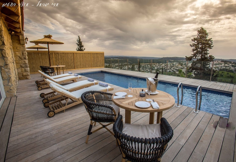 Gordonia Private Hotel - Adults Only, Mateh Yehuda, Junior Suite, Shared Pool, Mountain View, Terrace/Patio