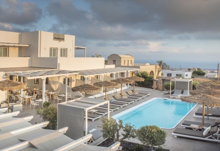 Impressive One, Santorini, Utvendig