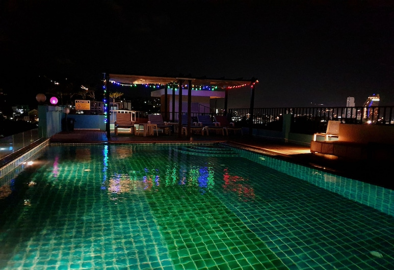Fulla Place, Patong, Rooftop Pool