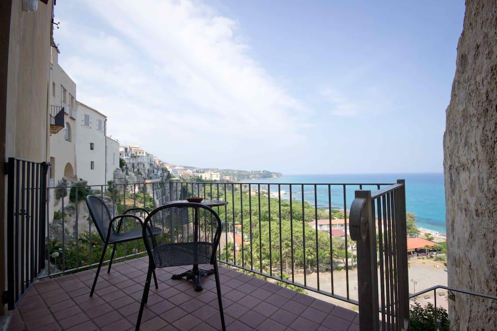 Standartinio tipo apartamentai, 1 miegamasis, vaizdas į vandenyną - Terasa / vidinis kiemas