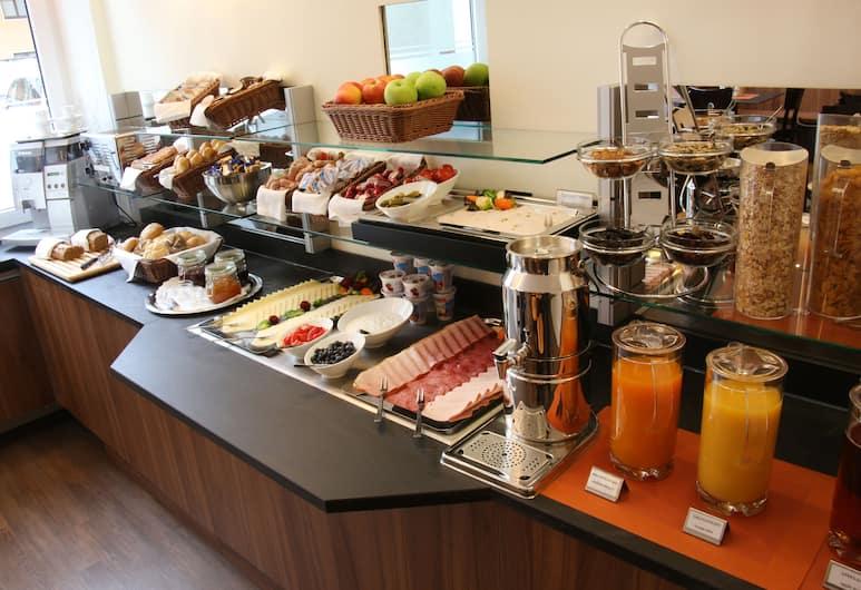 Andi Stadthotel, Múnich, Área para desayunar