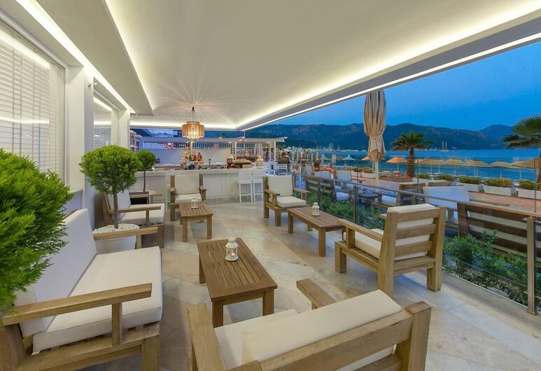 Sunprime Beachfront Hotel - Adults Only, Marmaris, Teras/Veranda