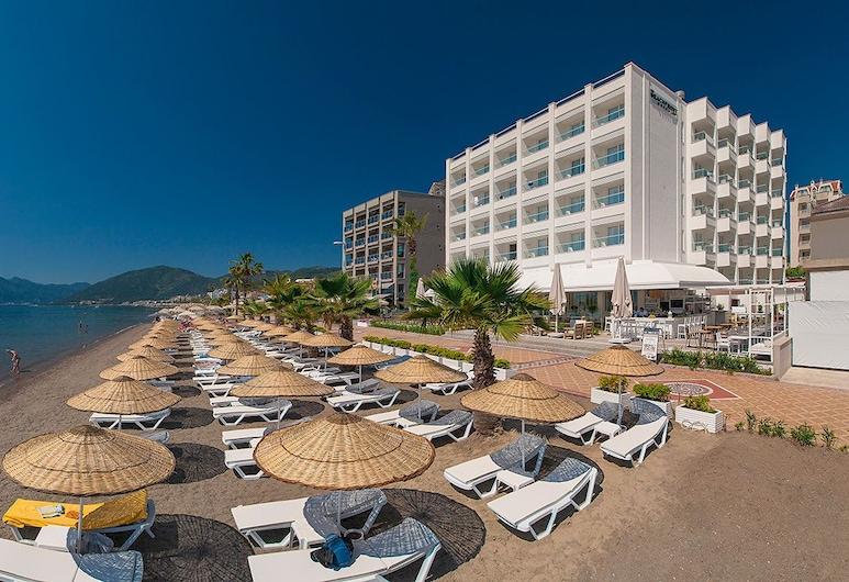 The Beachfront Hotel Adult Only 16 Plus, Мармарис, Пляж