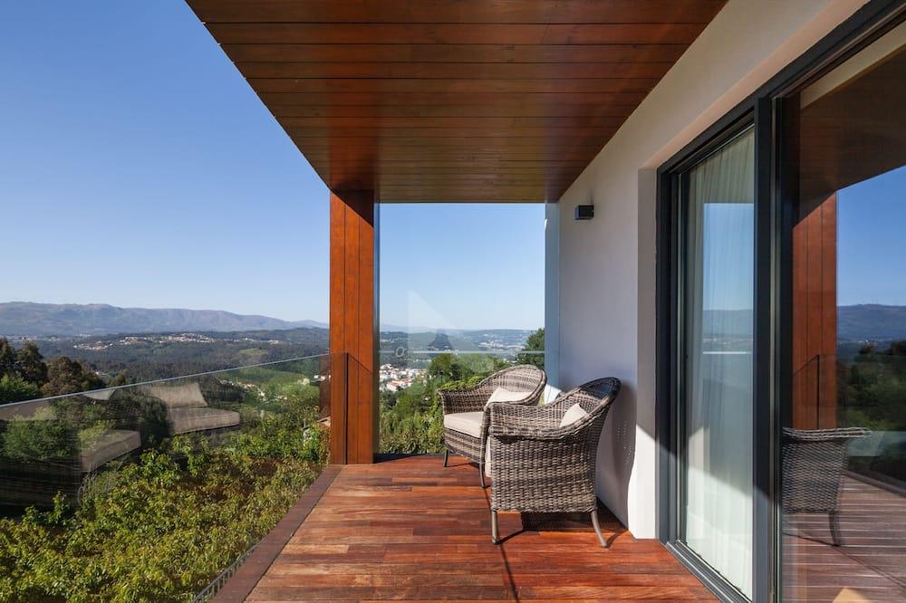 Doppel- oder Zweibettzimmer, Bergblick - Balkon