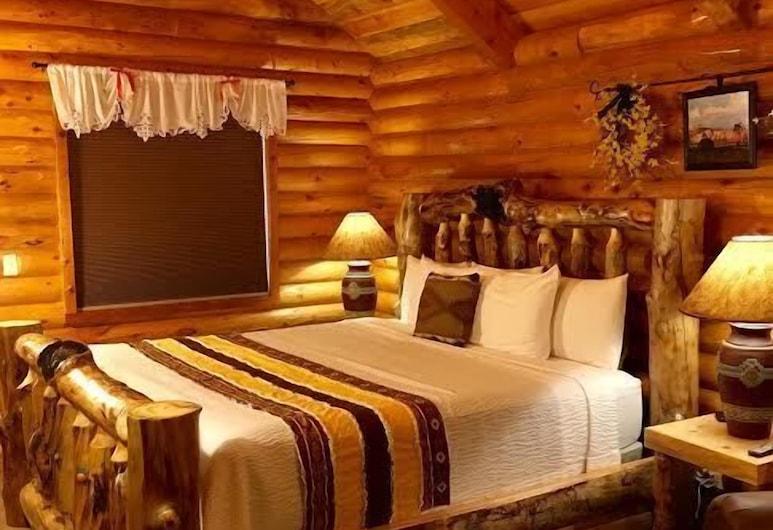 Bryce Canyon Log Cabins, Tropic, Suite Deluks, 1 Tempat Tidur King, pemandangan gunung, Pemandangan dari kamar