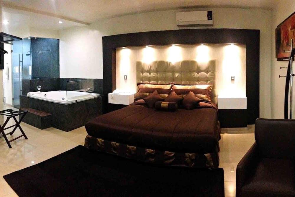 浪漫套房, 按摩浴缸 - 客房