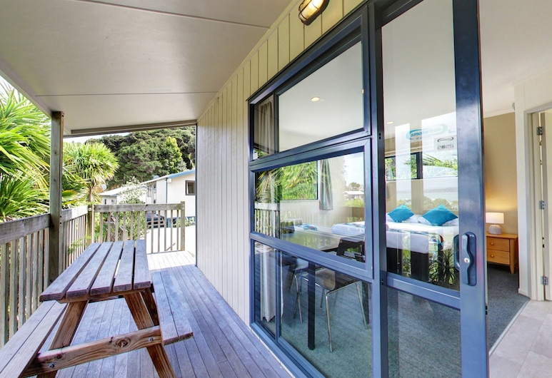 Russell Top 10 Holiday Park, Russell, Monolocale, vista baia, Balcone