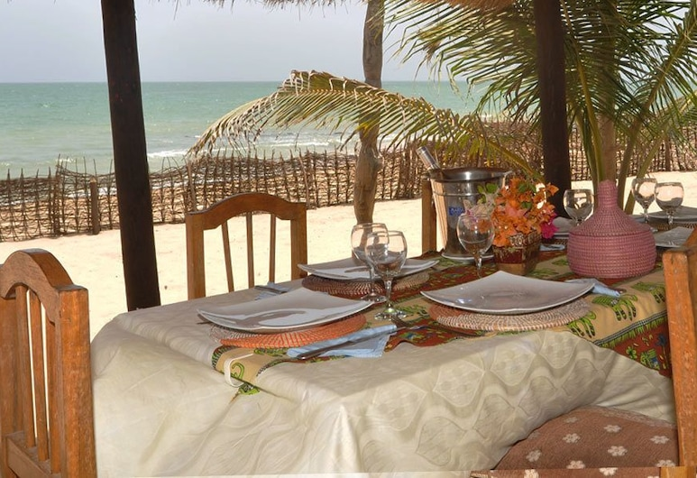 Le Mbaïla, Mbour, Outdoor Dining