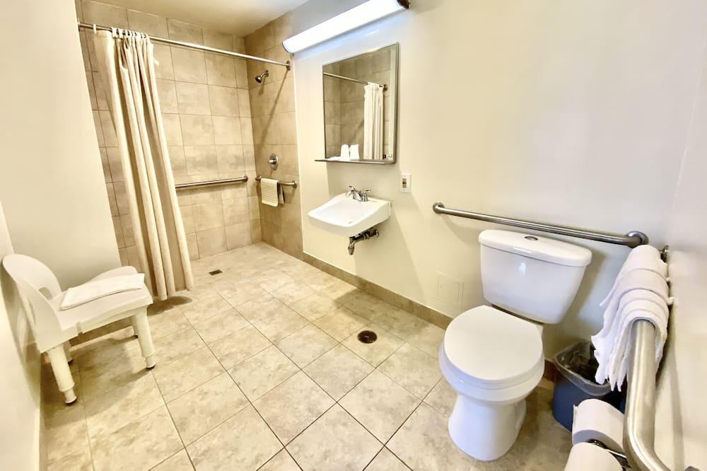 Szoba, mozgássérültek számára is hozzáférhető - Fürdőszoba