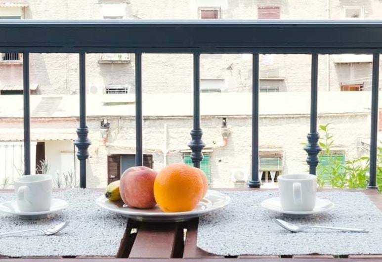 B&B I Tetti Napoli, Napels, Vierpersoonskamer (Split Level), Balkon