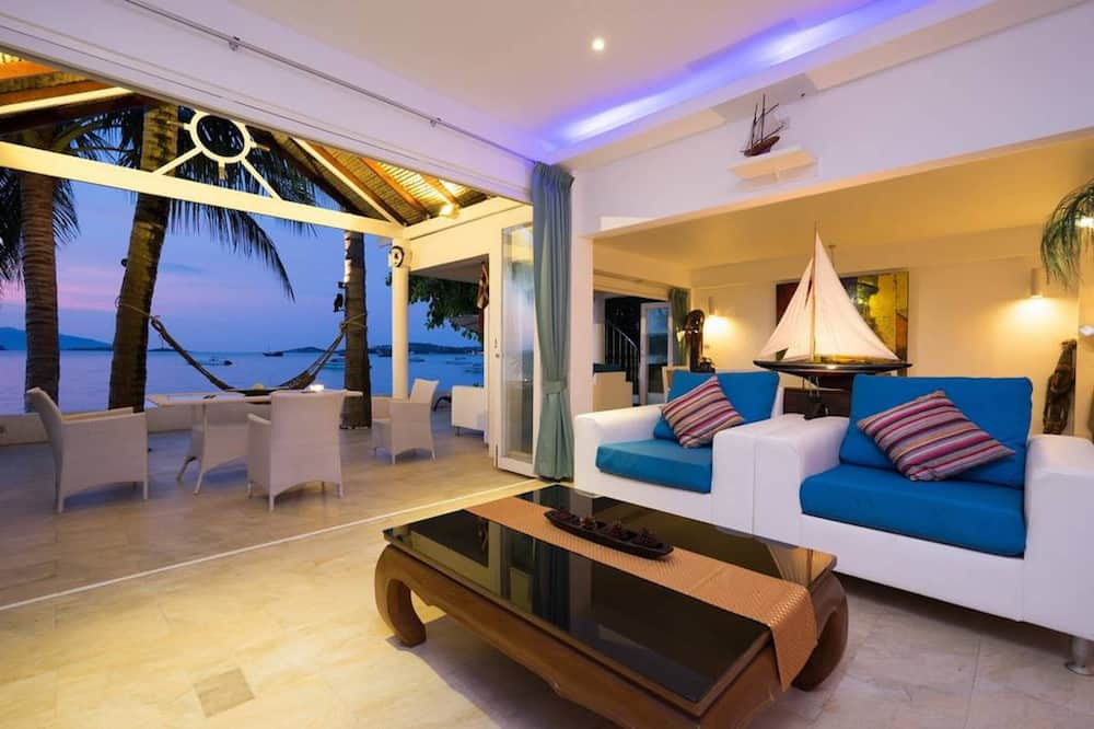 Villa, 1 Schlafzimmer, Strandnähe - Wohnbereich