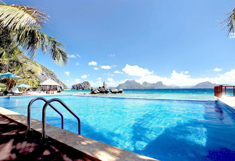 Matinloc Resort, El Nido, Luxusný bazén