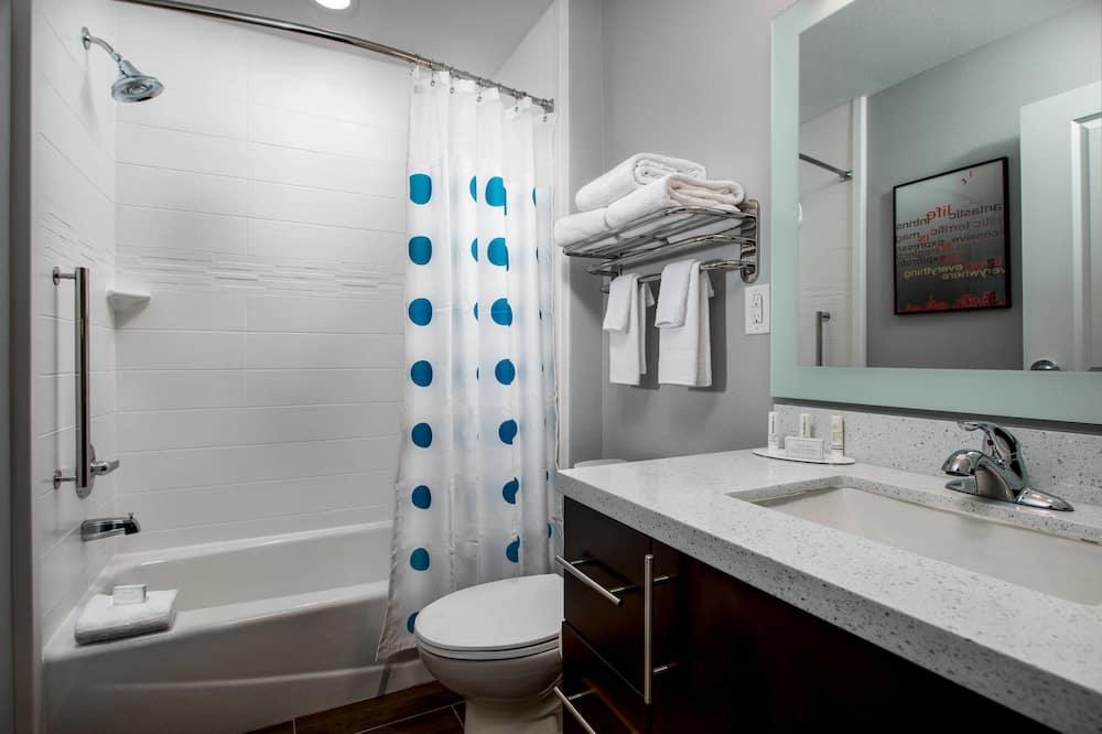 Suite, 1 slaapkamer, niet-roken - Badkamer