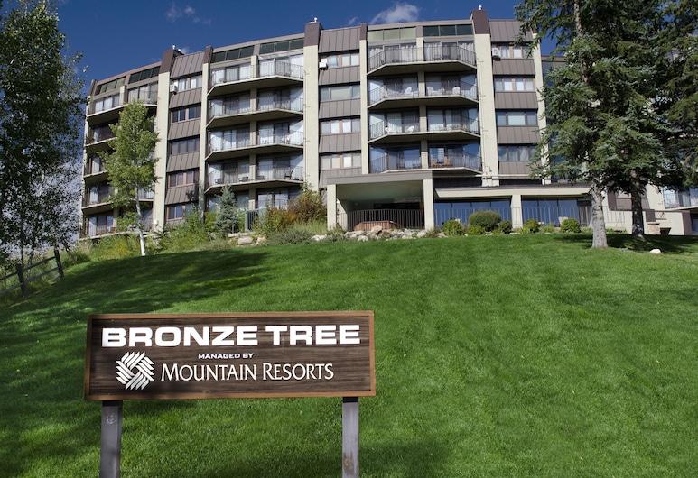 Bronze Tree Condominiums by Mountain Resorts, Steamboat Springs, Lägenhet - flera sängar - utsikt mot bergen (Bronze Tree Condominiums - BT105), Närbild fasad