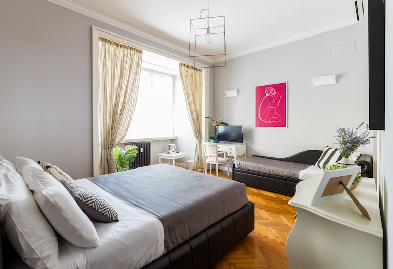 Athena Guest House, Rome, Superior driepersoonskamer, Kamer
