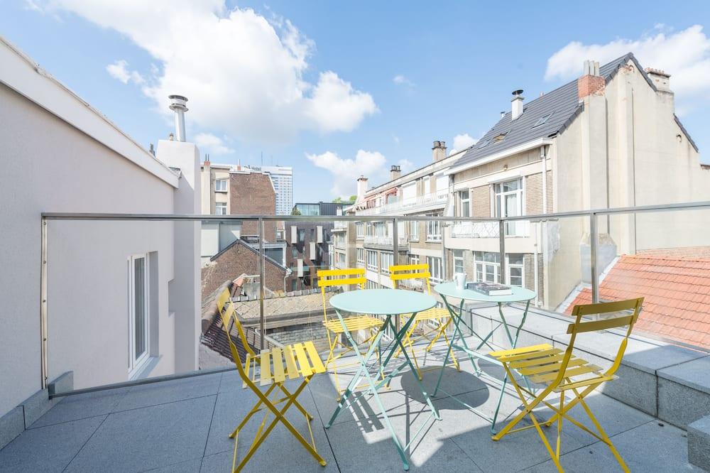 Lejlighed - 2 soveværelser - terrasse - Altan