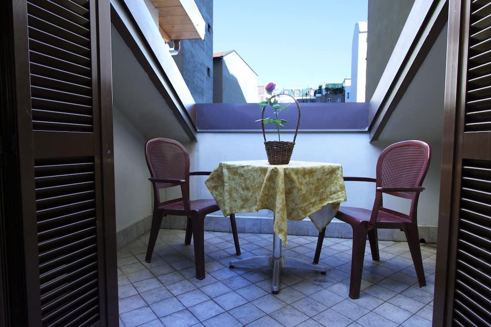 Kahden hengen huone, 1 parisänky - Terassi/patio