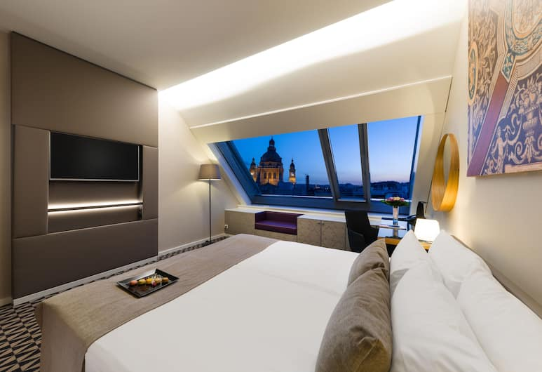 Hotel Moments Budapest, Budapest, Superior Room, Guest Room View
