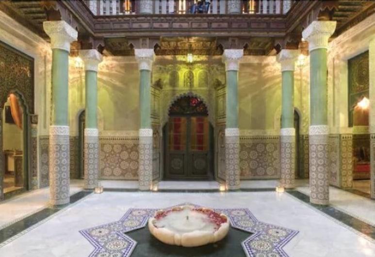 Riad Mumtaz Mahal, Essaouira, Binnenkant hotel