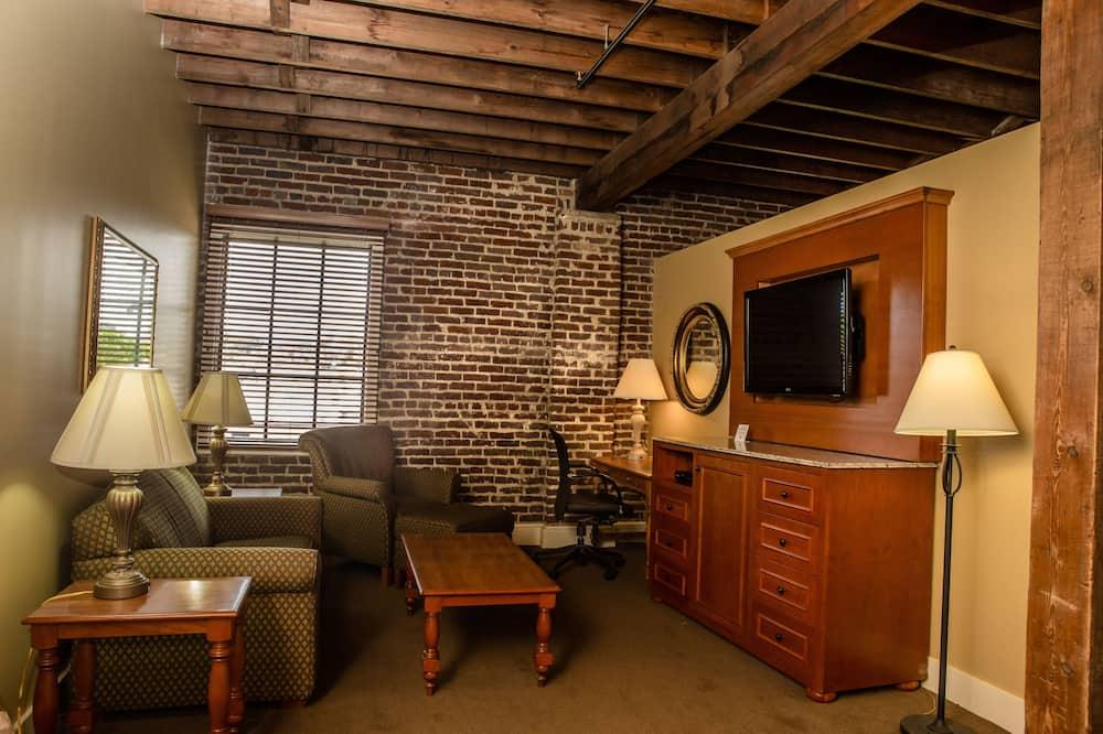 Deluxe Suite, 2 Katil Kelamin (Double), Kitchenette - Ruang Tamu