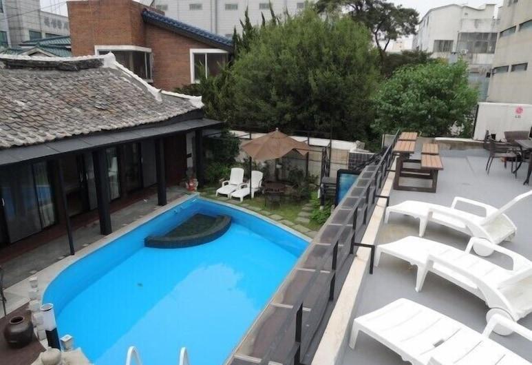 韓屋村 Spa 旅館, 大邱, 室外游泳池